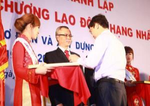 55 thành lập và nhận Huân chương lao động hạng nhất