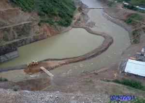 Công trình thủy điện Nậm Hóa 2 - Tỉnh Sơn La